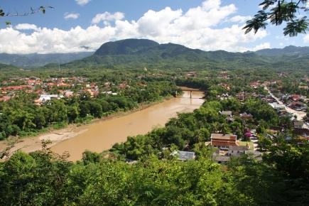 Luang Prabang - Blick vom Mount Phousi