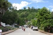 Blick auf den Mount Phousi