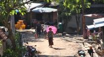 Sonnernschirme, oft im Einsatz