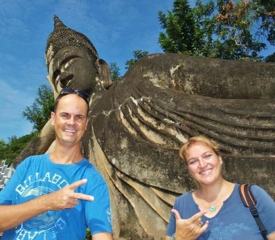 Buddha Park - sehr schön!