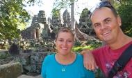 Banteay Kdei Temple: das Wandern durch die zahllosen Tempel ist wirklich anstrengend - aber es lohnt sich