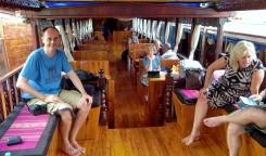 unser Schiff(chen) - Innenleben