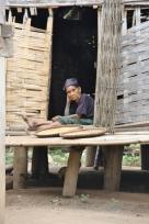 Dorfeinwohnerin
