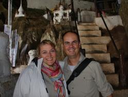Letzter Zwischenstopp vor Luang Prabang - Höhle voller Buddhas