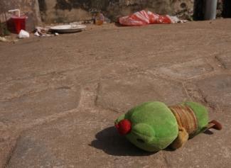 Froschn - blieb liegen...