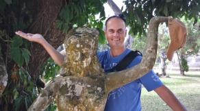 Carsten im Buddha Park