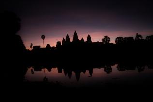 Angkor Watt im Morgengrauen