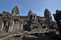"""Tempelanlage """"Angkor Wat"""" von innen"""