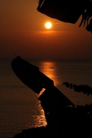 Sonnenuntergang auf Phuket