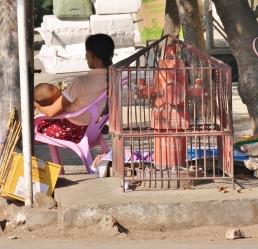 Viel vom Leben spielt sich direkt auf den Straßen ab - dabei wird nicht viel ausgelassen