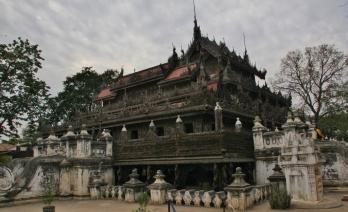 Einer der wenigen erhaltenen historischen Holzgebäude