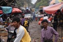 Mandalay hat den wohl größten Markt, den wir bisher gesehen haben