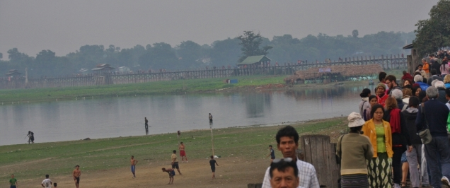 Die längste Teakholzbrücke der Welt - the place to go in der Region Mandalay