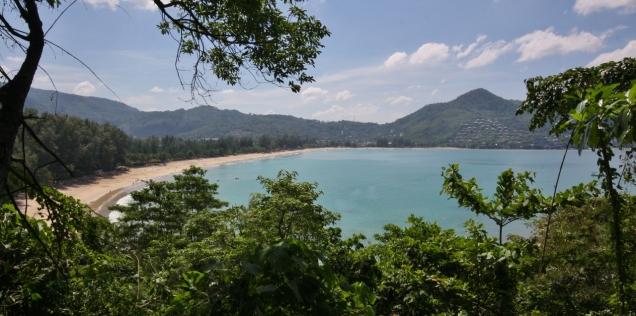 Bucht und Strand von Kamala - sehr schön
