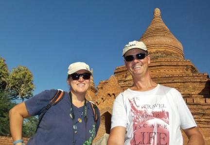 noch ein Selfi: Die Ebene von Bakan - wir sind begeistert!