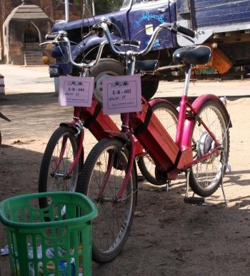 "Unsere Fortbewegungsmittel: ""E-Bikes"""