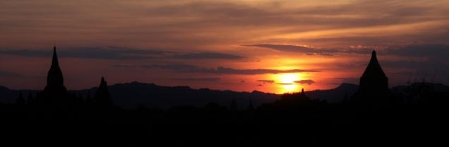 anderes Perspektive - bei Sonnenuntergang