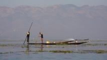 Lake - Fischer - Berge - wie schön