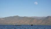 See - Gebirge - Mond