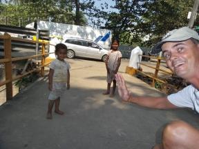Kinder, die wir unterwegs treffen