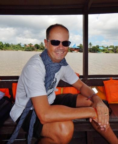 Eine kleine Rundtour mit dem Boot über den Sarawak River