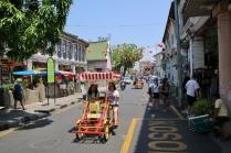 Georgetown - mit Touristen (viele aus China)