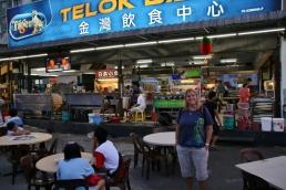 """""""unser"""" Hawker-Stall (da konnten wir sehr günstig essen - und lecker!)"""