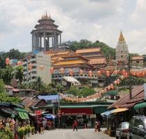 eine der Top-Sehenswürdigkeiten: der Kek Lok Si Tempel - wirklich toll!