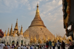 Swedagon Pagode in Rangun - echt toll