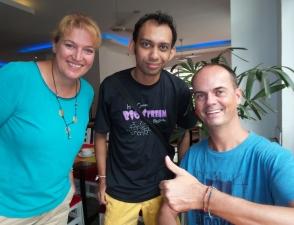 """""""Jayampathi"""" aus Sri-Lanka. Mit ihm haben wir 9 Tage lang in unserem Hotel gefrühstückt - sehr nett!"""