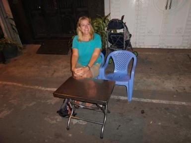 Eine romantische Bar sieht anders aus - wir fanden es trotzdem gut ;-)