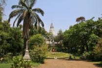 """Eine der Sehenswürdigkeiten: """"Wat Phnom"""""""