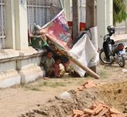 Kambodscha ist ein sehr armes Land. Viele Kinder leiden Hunger.