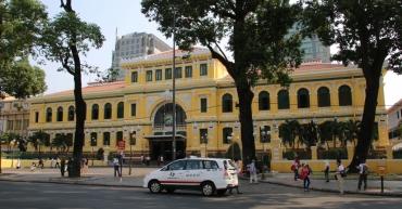 Das Postamt.