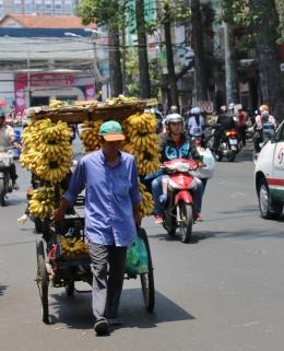 Der Bananen-Mann kommt.