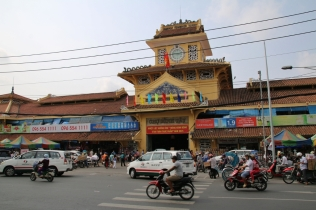 "Zugang zum ""Binh Tay Market"" in Chinatown"