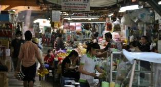 Im Binh Tay Market.