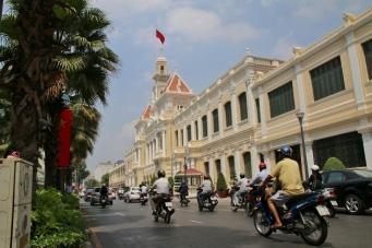 Das alte (ehemalige) Rathaus von Saigon