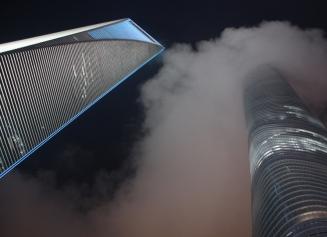 World Financial Center und Shanghai Tower: Symbole eines schwergewichtigen Chinas