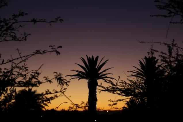 Noch ein Sonnenuntergang.