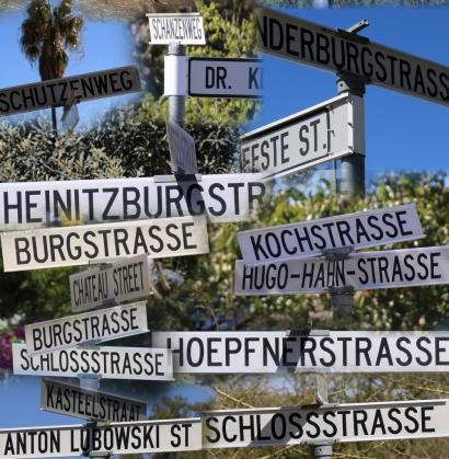 Lustig, überall deutsche Einflüsse, noch immer.