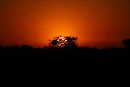 Sonnenuntergänge, immer wieder und immer schön.
