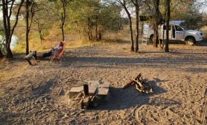 Einer der zahlreichen Campsites, auf denen wir wohnten.