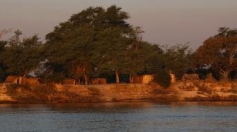 Fahrt auf dem Sambesi (Botswana)