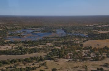 Im Süden des Deltas gibt es nicht so viel Wasser, wie wir dachten.