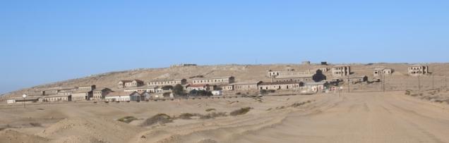 Kolmannskuppe, eine verlassene Goldgräberstadt in Mitten der Wüste, nahe Lüderitz / Namibia.