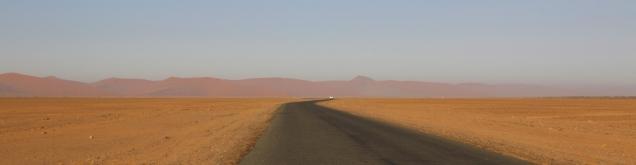 Die Dünen aus der Distanz.