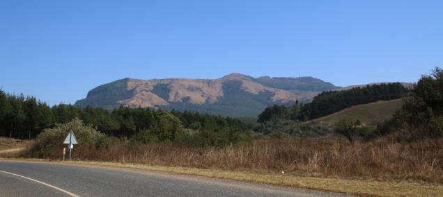 Imposante Berge, sie sehen wir immer wieder - ganz toll!