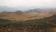 Eine Wanderung irgendwo im Swasiland.