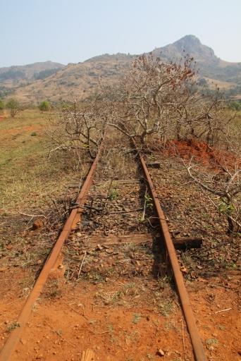 Nicht viel los hier mit der Eisenbahn.